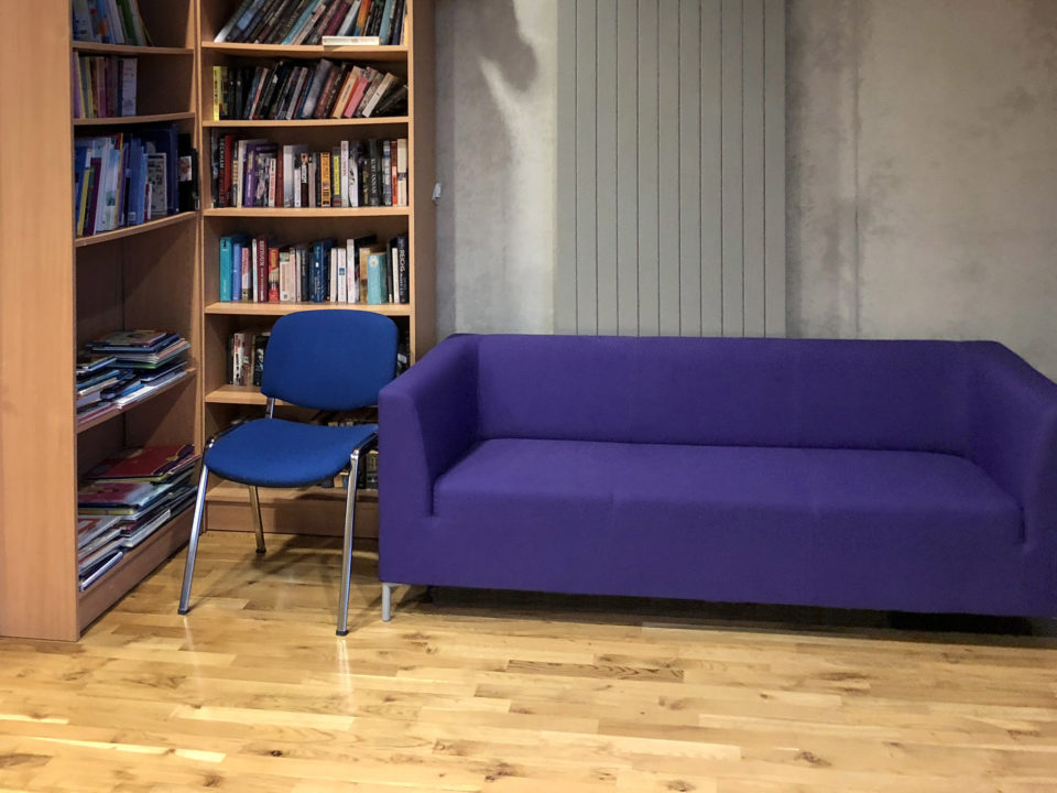 Samuel Beckett Community Facility Library Corner